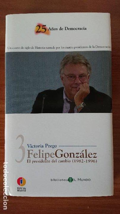 Libros de segunda mano: 25 AÑOS DE DEMOCRACIA.- Biblioteca EL MUNDO - Victoria Prego – Experiencias y recuerdos gobernantes - Foto 7 - 202595115
