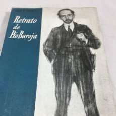 Livres d'occasion: RETRATO DE PIO BAROJA. LUIS GRANJEL, BARCELONA, 1953 EDITORIAL BARNA. Lote 202647161