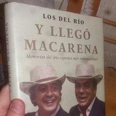 Libros de segunda mano: LIBRO: Y LLEGÓ MACARENA. Lote 203901051