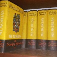 Livros em segunda mão: MEMORIAS DE WINSTON CHURCHILL (12 TOMOS). Lote 204461510