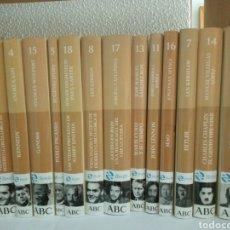 Libros de segunda mano: BIBIBLIOTECA ABC PROTAGONISTAS DEL SIGLO XX LOTE 14 LIBROS NUEVOS SIN USAR. Lote 205768603