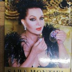 Libros de segunda mano: SARA MONTIEL, MEMORIAS. VIVIR ES UN PLACER. 1° EDICIÓN. Lote 206230076