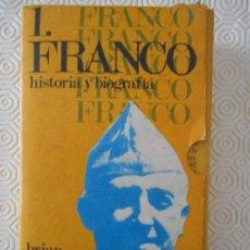 Libros de segunda mano: FRANCO. HISTORIA Y BIOGRAFIA. BRIAN CROZIER. 2 TOMOS. E.M.E.S.A. 1970. RUSTICA. CON ESTUCHE DE CARTO. Lote 206429348