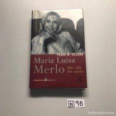 Libros de segunda mano: MARÍA LUISA MERLO. Lote 206512760