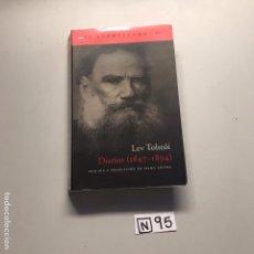 Libros de segunda mano: LEV TOLSTOI. Lote 206588366