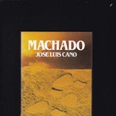 Libros de segunda mano: MACHADO, ANTONIO (1875-1939) - JOSE LUIS CANO - BIOGRAFIAS SALVAT 1985 / ILUSTRADO. Lote 206806635