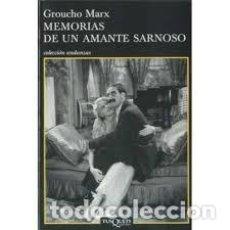 Libros de segunda mano: GROUCHO MARX - MEMORIAS DE UN AMANTE SARNOSO. Lote 207181892