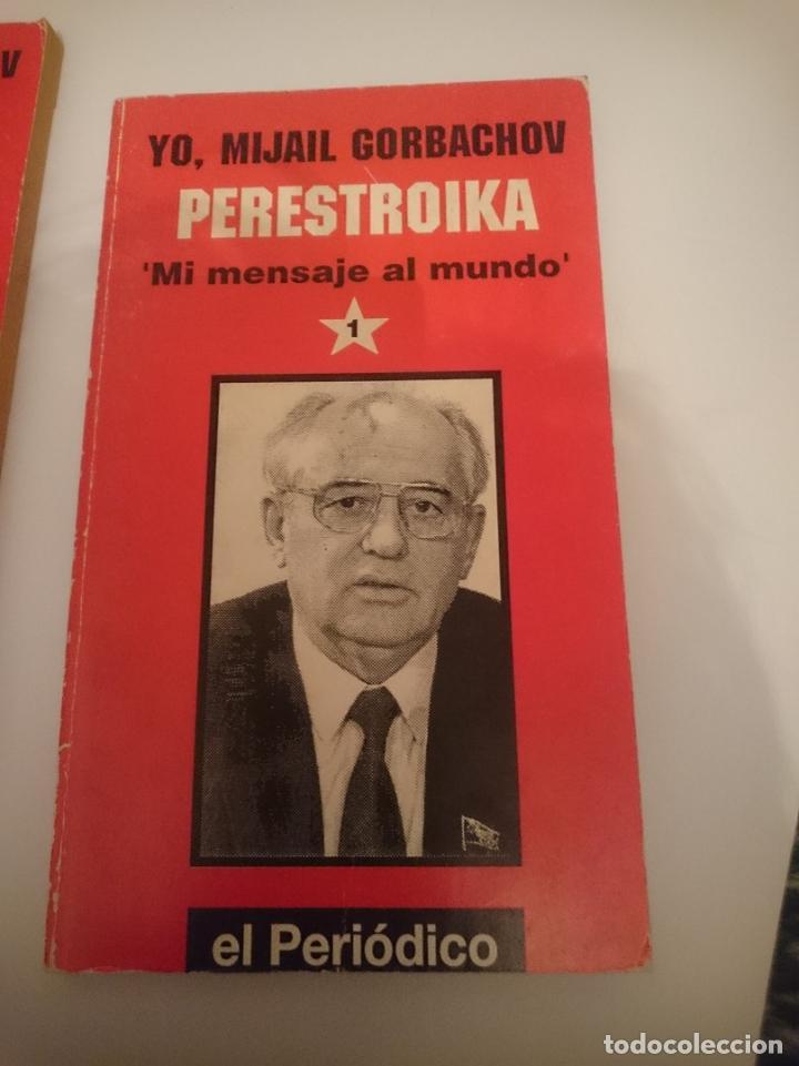 YO MIJAIL GORBACHOV PERESTROIKA MI MENSAJE AL MUNDO - NUMERO 1 (Libros de Segunda Mano - Biografías)