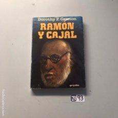 Libros de segunda mano: RAMÓN Y CAJAL. Lote 207445780