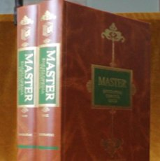 Libros de segunda mano: MASTER ENCICLOPEDIA TEMÁTICA LOGSE,BIOGRAFÍAS,EDITORIAL OLIMPO,1993,DOS TOMOS.. Lote 208678766