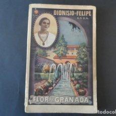 Libros de segunda mano: FLOR DE GRANADA . DIONISIO DE FELIPE C.S S.R.. EDITORIAL EL PERPETUO SOCORRO 1945. Lote 208953857