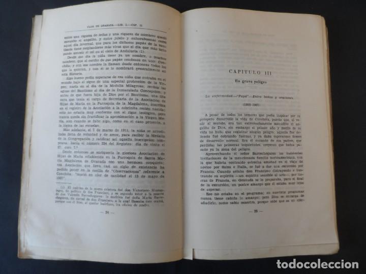 Libros de segunda mano: FLOR DE GRANADA . DIONISIO DE FELIPE C.S S.R.. EDITORIAL EL PERPETUO SOCORRO 1945 - Foto 3 - 208953857