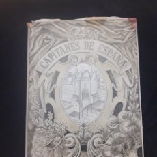 Libros de segunda mano: LIBRO CAPITANES DE ESPAÑA DE LUIS MANRIQUE 1944. Lote 208987432