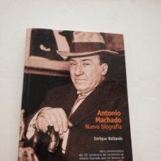 Livros em segunda mão: ENRIQUE BALTANÁS - ANTONIO MACHADO NUEVA BIOGRAFÍA - DIARIO JAÉN 2000. Lote 209149930