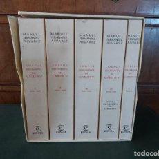 Libros de segunda mano: CORPUS DOCUMENTAL DE CARLOS V. MANUEL FERNÁNDEZ ÁLVAREZ. ESPASA. 2003.. Lote 209311143