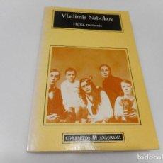 Libros de segunda mano: VLADIMIR NABOKOV HABLA, MEMORIA Q1713A. Lote 210649840