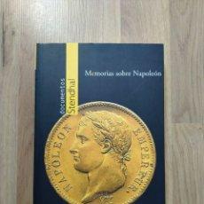 Libros de segunda mano: MEMORIAS SOBRE NAPOLEÓN. DOCUMENTOS STENDHAL.. Lote 210737284