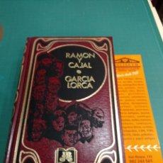 Libros de segunda mano: RAMÓN Y CAJAL - GARCÍA LORCA . EDICIONES URBION .1ED 1988. Lote 210766197