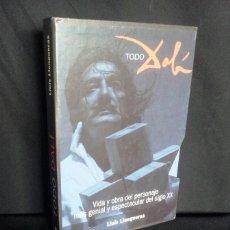 Libros de segunda mano: LLUIS LLONGUERAS - TODO DALI VIDA Y OBRA DEL PERSONAJE - FIRMADO POR LLUIS LLONGUERAS. Lote 210770755