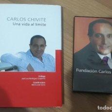 Libros de segunda mano: CARLOS CHIVITE UNA VIDA AL LÍMITE + DVD. Lote 211728344