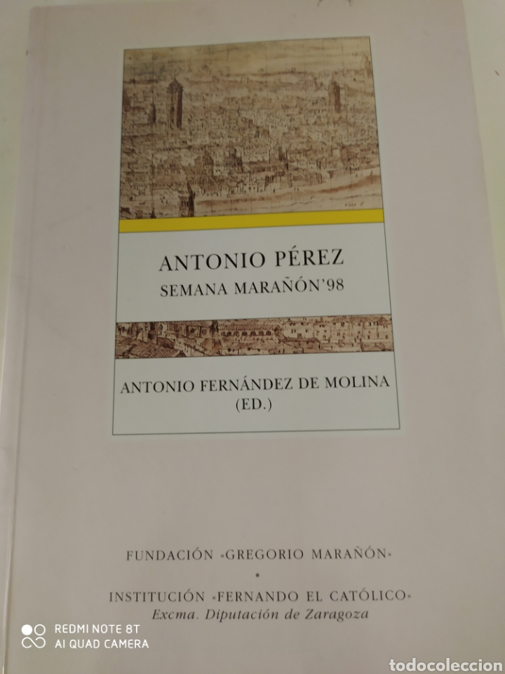 Libros de segunda mano: Antonio Pérez Gregorio Marañón con prólogo inédito de Gregorio Marañón y libro adicional - Foto 4 - 211791461
