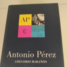 Libros de segunda mano: ANTONIO PÉREZ GREGORIO MARAÑÓN CON PRÓLOGO INÉDITO DE GREGORIO MARAÑÓN Y LIBRO ADICIONAL. Lote 211791461