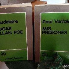 Libros de segunda mano: BAUDELAIRE/VERLAINE. Lote 211880165