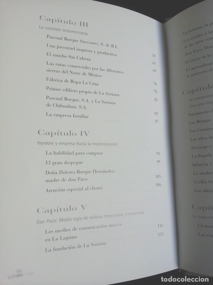 Libros de segunda mano: FRANCISCO MARTIN BORQUE - FORJADOR INCANSABLE - LA SORIANA2001 - Foto 4 - 212478287