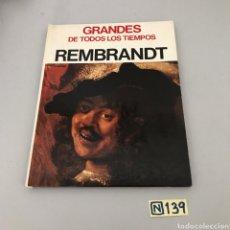 Libros de segunda mano: REMBRANDT. Lote 213125188