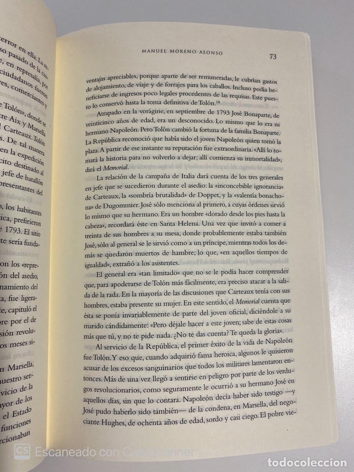 Libros de segunda mano: JOSE BONAPARTE. MANUEL MORENO ALONSO. LA ESFERA ED. MADRID, 2008. PAGS:551 - Foto 4 - 213165690