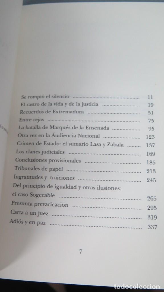Libros de segunda mano: PASOS PERDIDOS. CONFESIONES EN CARNE VIVA. JAVIER GOMEZ DE LIAÑO - Foto 2 - 213662413
