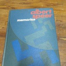 Libros de segunda mano: MEMORIAS ALBERT SPEER. Lote 213760115