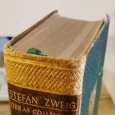 Libros de segunda mano: OBRAS COMPLETAS DE STEFAN ZWEIG. TOMO III. BIOGRAFIAS. JUVENTUD 1953.. Lote 213766146