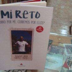 """Libros de segunda mano: MI RETO """"CORRO POR MÍ, CORREMOS POR ELLOS"""" - ALMERIA. Lote 214290726"""