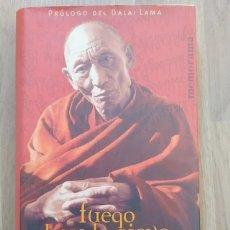 Libros de segunda mano: FUEGO BAJO LA NIEVE. PALDEN GYATSO. Lote 214292891