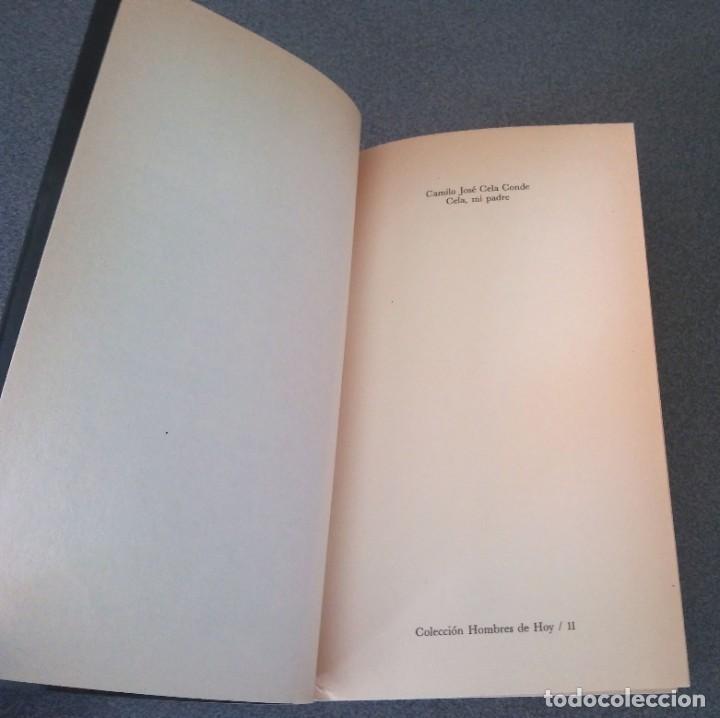 Libros de segunda mano: Cela Mi Padre Camilo Jose Cela Conde - Foto 3 - 214295520