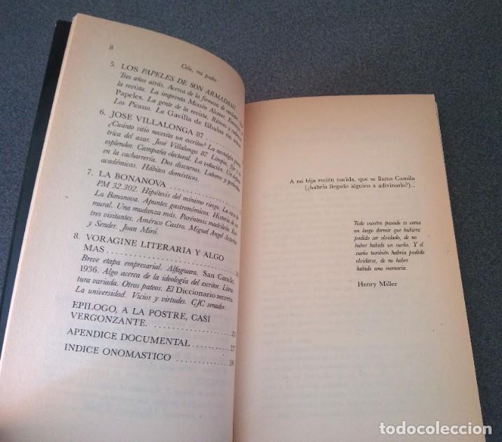 Libros de segunda mano: Cela Mi Padre Camilo Jose Cela Conde - Foto 5 - 214295520