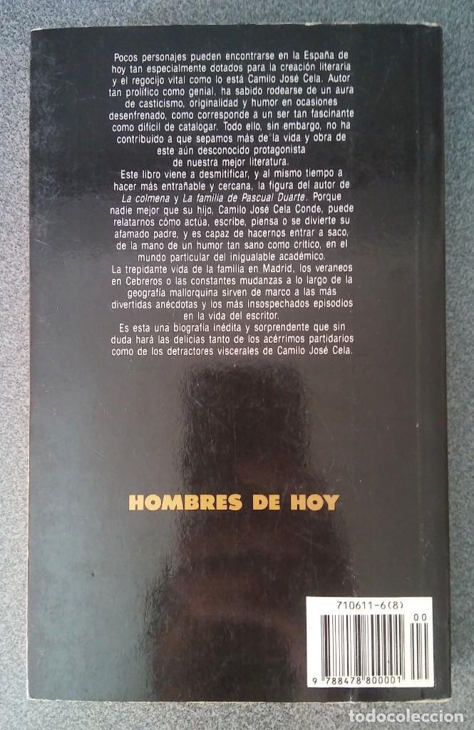 Libros de segunda mano: Cela Mi Padre Camilo Jose Cela Conde - Foto 6 - 214295520