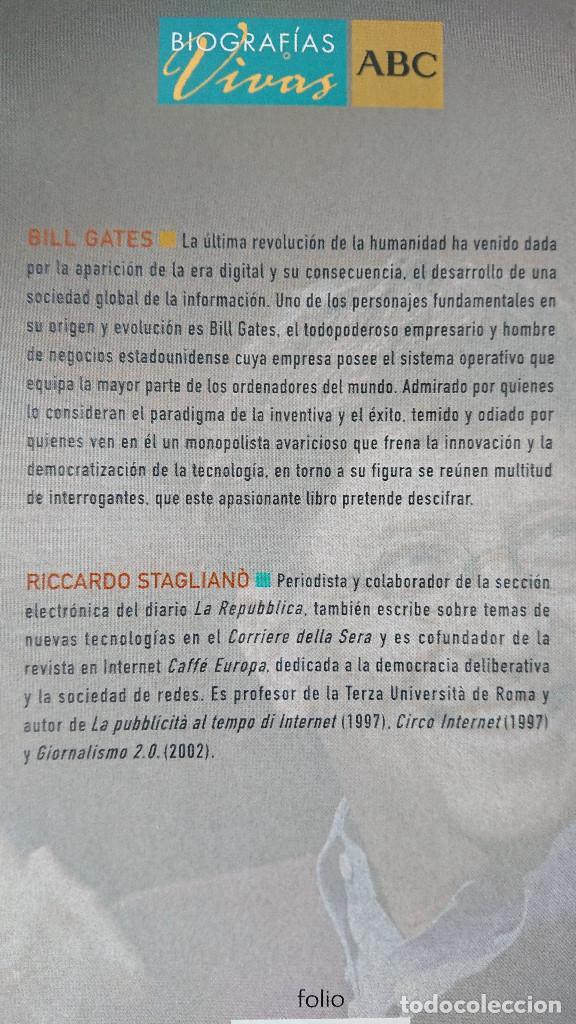 Libros de segunda mano: Bill Gates; Juan Carlos; Juan Pablo II - Riccardo Staglianò; Paul Preston; Eusebio Ferrer - Biogr - Foto 5 - 214550542