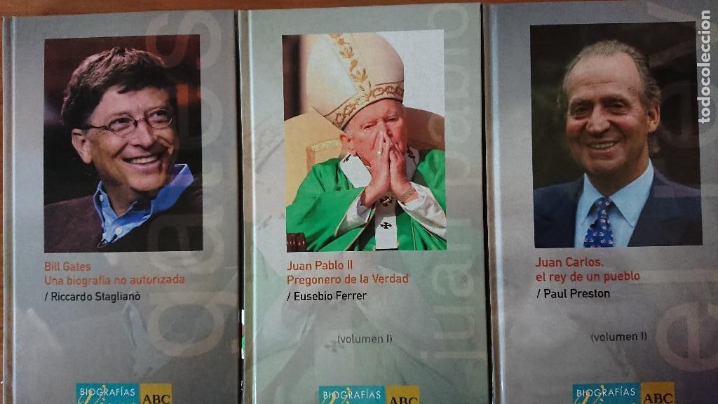 BILL GATES; JUAN CARLOS; JUAN PABLO II - RICCARDO STAGLIANÒ; PAUL PRESTON; EUSEBIO FERRER - BIOGR (Libros de Segunda Mano - Biografías)