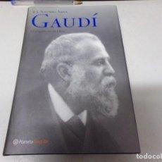Libros de segunda mano: GAUDÍ EL ARQUITECTO DE DIOS AUTOR J.J NAVARRO ARISA. Lote 214801683