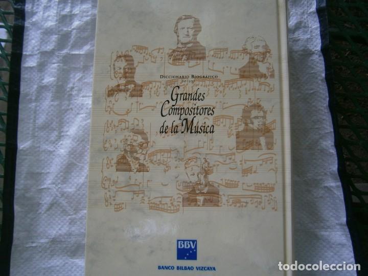 Libros de segunda mano: DICCIONARIO BIOGRÁFICO DE LOS GRANDES COMPOSITORES DE LA MUSICA - Foto 2 - 215351562