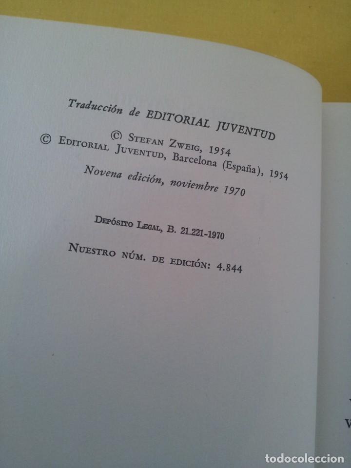 Libros de segunda mano: STEFAN ZWEIG - FOUCHE, EL GENIO TENEBROSO - EDITORIAL JUVENTUD NOVENA EDICION 1970 - Foto 5 - 215977231