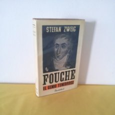 Libros de segunda mano: STEFAN ZWEIG - FOUCHE, EL GENIO TENEBROSO - EDITORIAL JUVENTUD NOVENA EDICION 1970. Lote 215977231