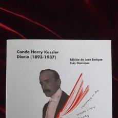 Libros de segunda mano: DIARIO (1893-1937) - CONDE HARRY KESSLER - LA VANGUARDIA 2015. Lote 216370307