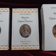 Libros de segunda mano: HISTOIRE DE CLARISSE HARLOVE - SAMUEL RICHARDSON - DESJONQUÈRES 1999. Lote 216370310