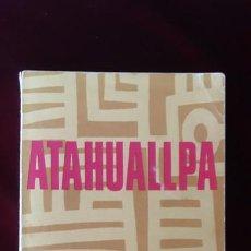 Libros de segunda mano: ATAHUALLPA - BENJAMÍN CARRIÓN - ED. RM 1968. Lote 216370370