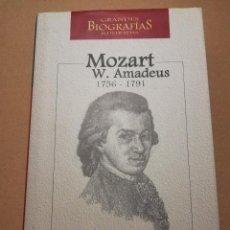Libros de segunda mano: WOLFGANG AMADEUS MOZART (1756 - 1791) JOSÉ MIGUEL MUÑOZ DE LA NAVA CHACÓN. Lote 216515250