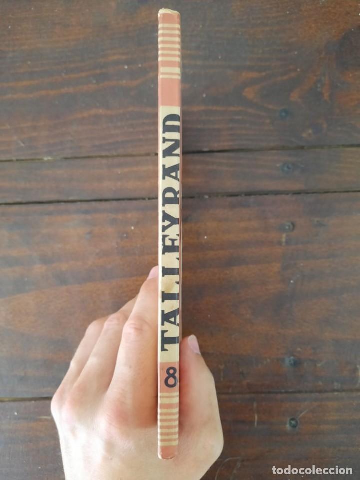Libros de segunda mano: TALLEYRAND, VIDAS - HECTOR DEL VALLE - EDICIONES ATLAS, 1943, MADRID - Foto 4 - 217019002
