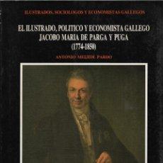 Libros de segunda mano: EL ILUSTRADO, POLÍTICO Y ECONOMISTA GALLEGO JACOBO MARÍA DE PARGA Y PUGA (1774-1850), A. MEIJIDE. Lote 217682342